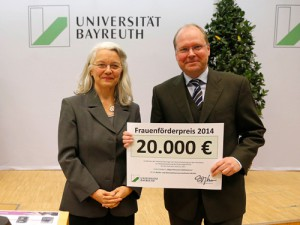 Prof. Dr. Karin Birkner und  Prof. Dr. Ludwig Haag
