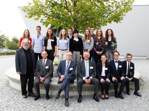 Hörsaal plus Klassenzimmer – Universität Bayreuth startet Pilotprojekt Universitäre Oberstufe für hochbegabte Bayreuther Schüler auf dem Campus der Universität Bayreuth Fotograf Peter Kolb