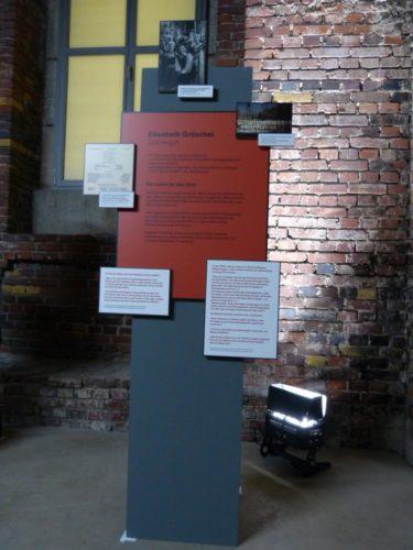 Personenstation in der Ausstellung (Foto: Martina Christmeier, Dokumentationszentrum Reichsparteitagsgelände)